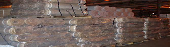 bulk burlap in rolls, bales, and bolts