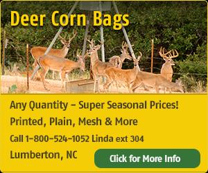Deer Corn Bags
