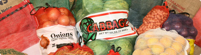 Leno Mesh Citrus and Produce Bags