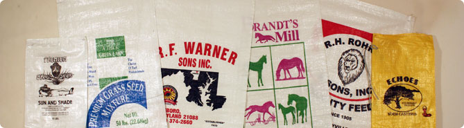 Woven Poly Bags With Custom Printing