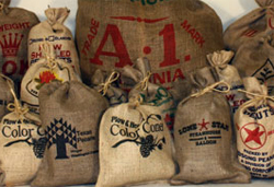 burlap bag Creative Ideas for Reusing Burlap Bags