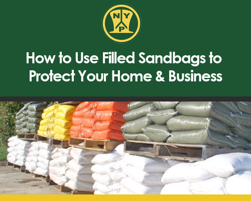 How to Use Filled Sandbags to Protect Your Home & Business